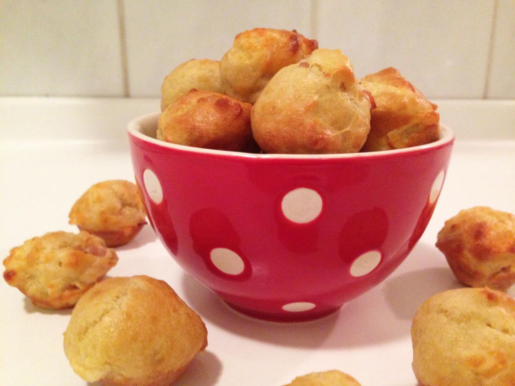 Izgledajo bolj mini kruhki kot mafini. Best of both worlds. ^^